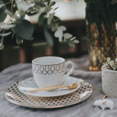 First Gold Coffee Set | Set 2