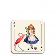 Alice in Wonderland Coaster - Alice