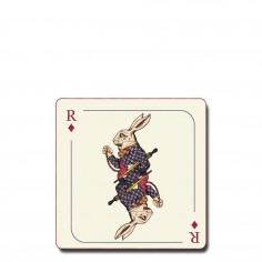 Alice in Wonderland Coaster - Rabbit