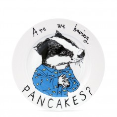 """Are we having Pancakes?"" Side Plate"