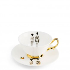 The Models teacup and saucer