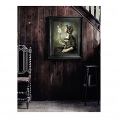 'Mirror Mirror' Framed Canvas Print