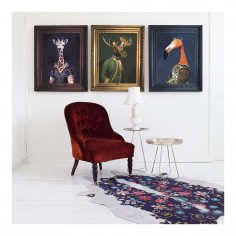 'Princess Flaminia' Framed Canvas Print