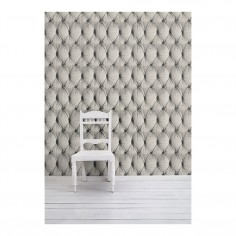 Chesterfield Button Back Wallpaper Cream