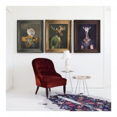 'Dame Giralda' Canvas Print