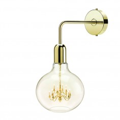 King Edison Wall Lamp - Gold