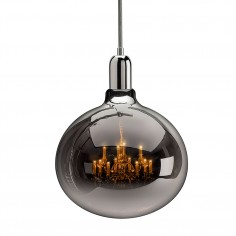 King Edison Grande Pendant Lamp - Chrome