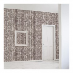 Driftwood Damask Wallpaper Light