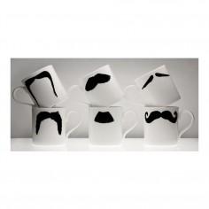 Moustache Mug XL - Fu Magnum Black