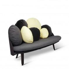 Nubilo Colours Sofa - Black/Yellow