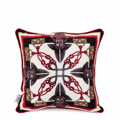 Mercury Sancus Double Sided Silk Cushion Cover