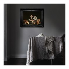 'White Dress' Canvas Print (S)