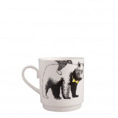 Mix & Match Stacking Cup - Bowtie Bear Bottom