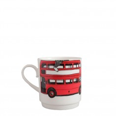 Mix & Match Stacking Cup - Red London Bus Bottom