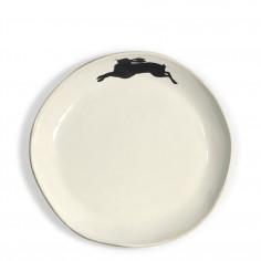 Bunny Salad / Pasta Plate - White