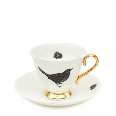Bird and Nest teacup and saucer