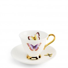 Butterflies Teacup and saucer