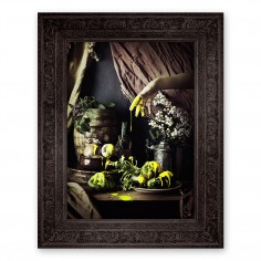 'Strange Fruit' Ornate Framed Canvas Print (S)