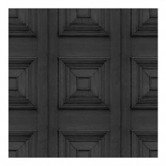 Victorian Panelling Wallpaper Charcoal