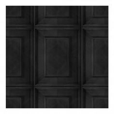 Charocal Dutch Inlay Panelling Wallpaper