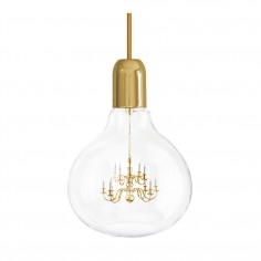 King Edison Pendant Lamp - Gold