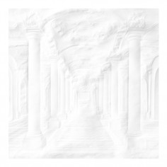 Paper Palace Folded Colums Wallpaper Mural