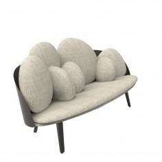 Nubilo Monochrome Armchair & Sofa