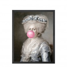 Bubblegum Portrait -4