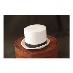 Sugar Bowl Hat - Jean (Ribbon)